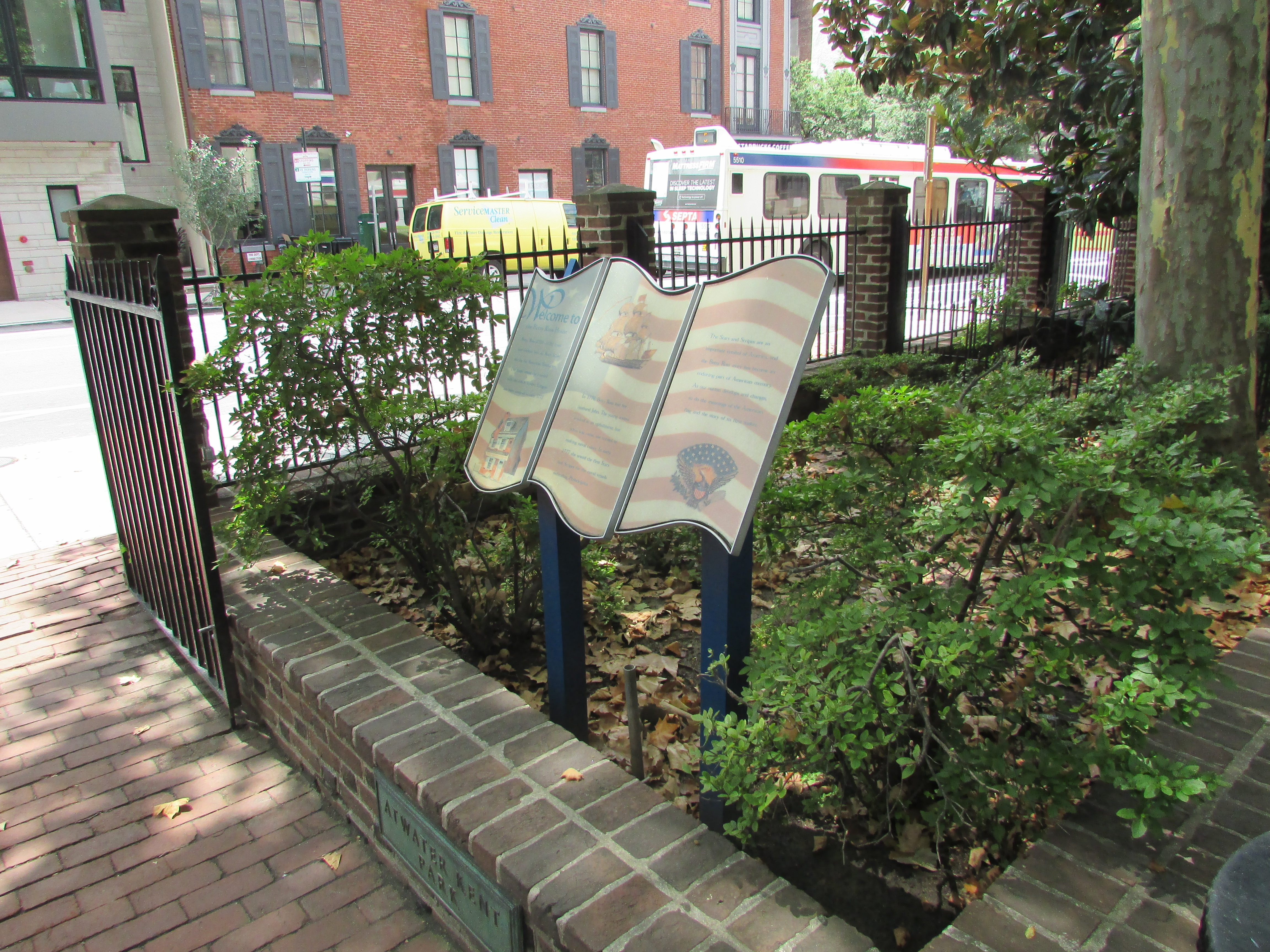Welcome to the Betsy Ross House Marker
