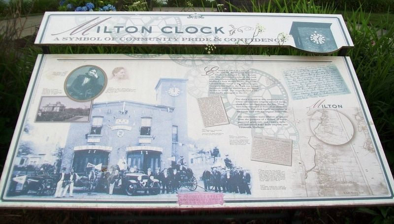 Milton Clock Marker image. Click for full size.