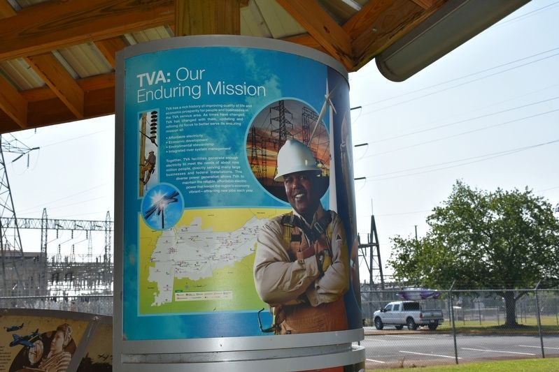 TVA: Our Enduring Mission/Powering Prosperity Marker image. Click for full size.