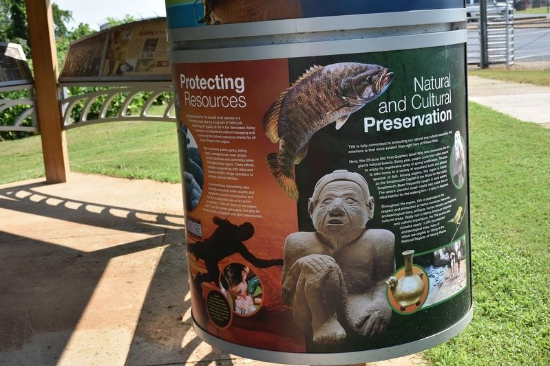 Natural and Cultural Preservation/Protecting Resources Marker image. Click for full size.