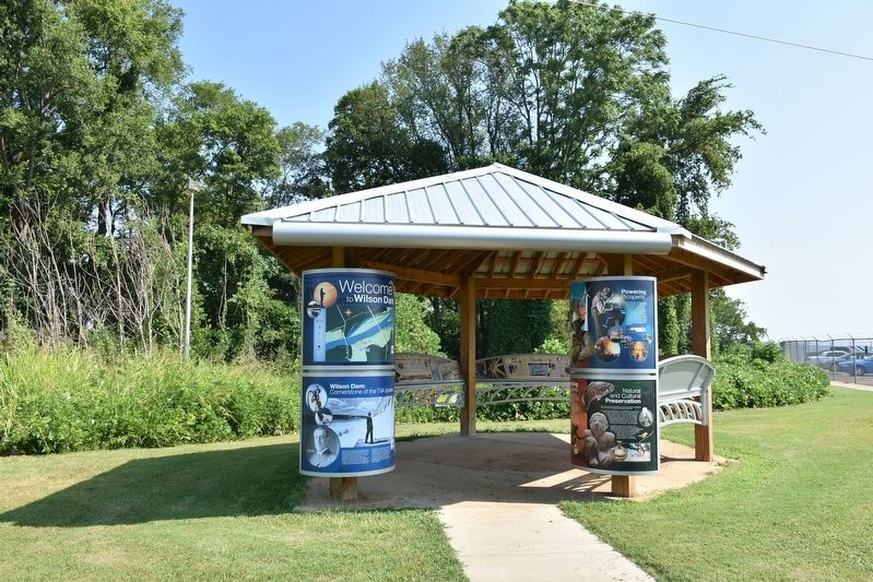 Natural and Cultural Preservation/Protecting Resources Marker Kiosk image. Click for full size.