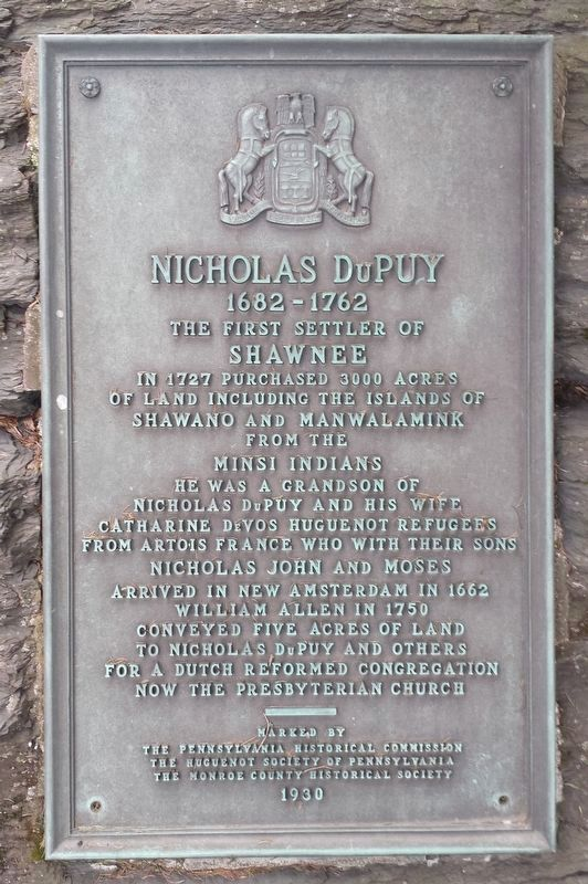 Nicholas DuPuy Marker image. Click for full size.