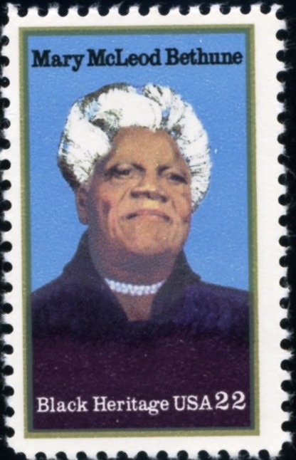 Mary McLeod Bethune US Stamp