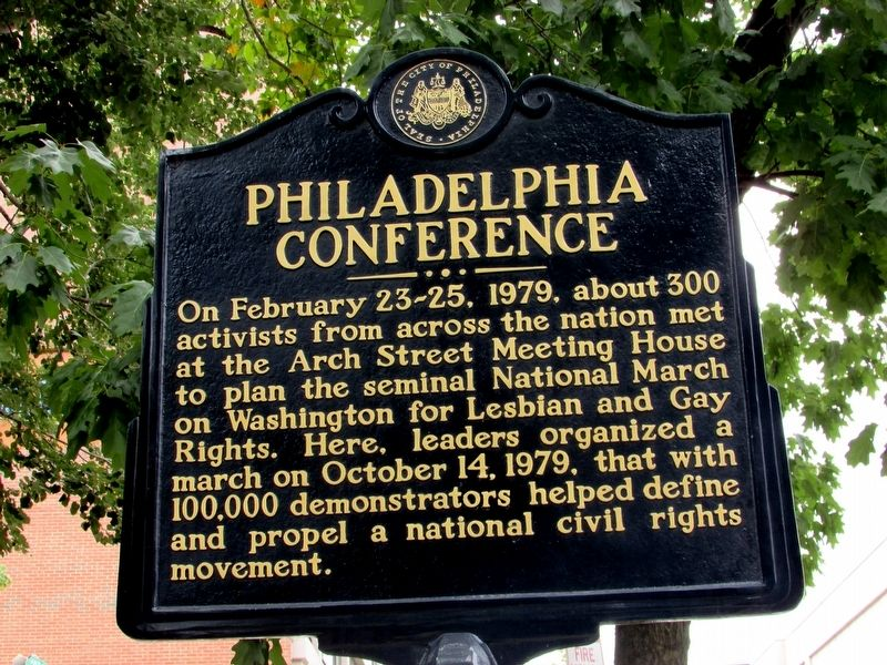 Philadelphia Conference Marker image. Click for full size.