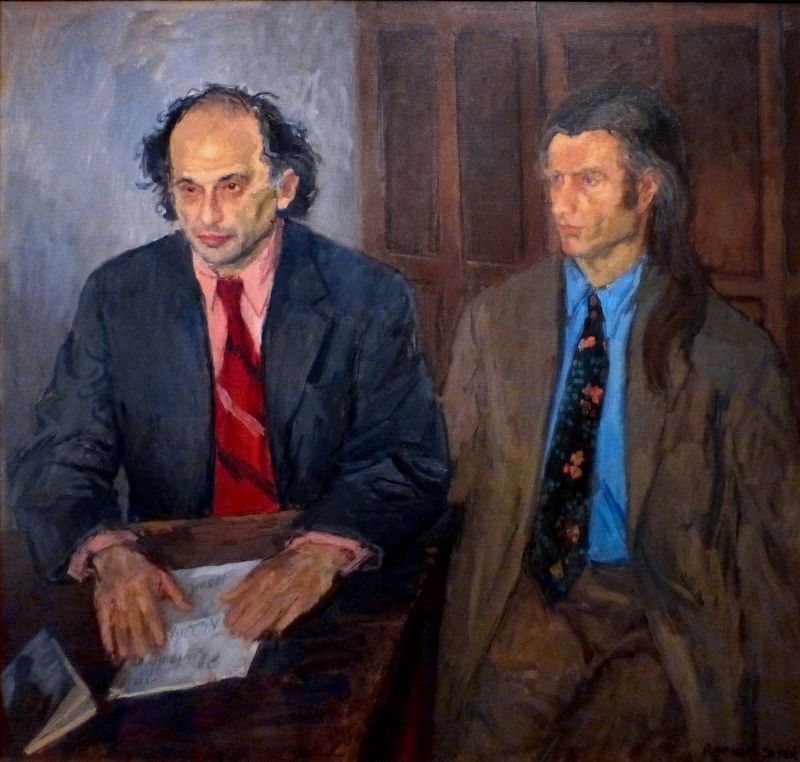 Allen Ginsberg and Peter Orlovsky image. Click for full size.
