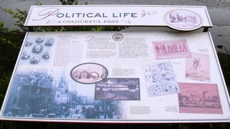 Political Life Marker image. Click for full size.