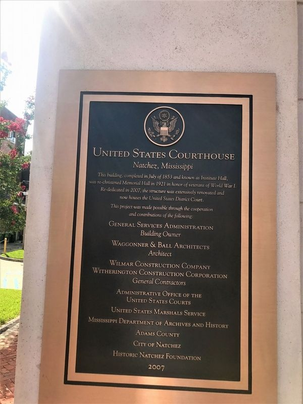 United States Courthouse Marker image. Click for full size.