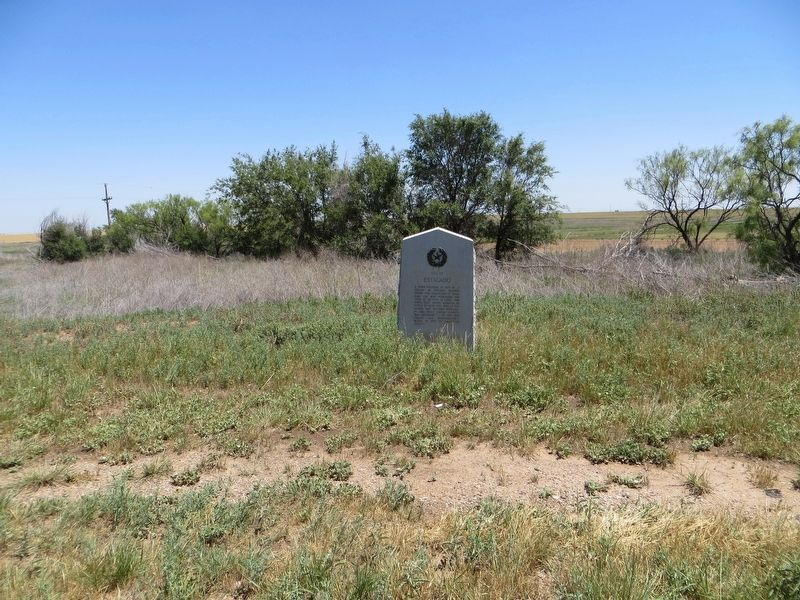Site of Estacado Marker image. Click for full size.