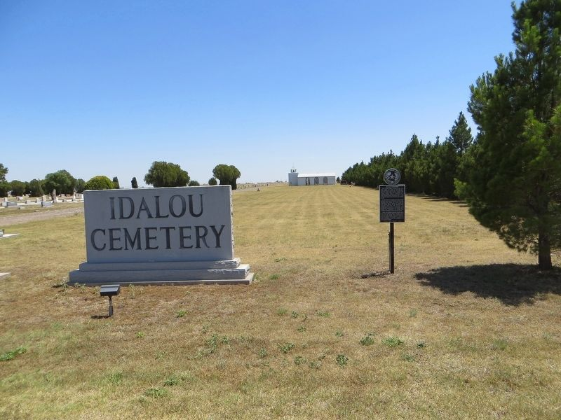 Idalou Cemetery Marker image, Touch for more information