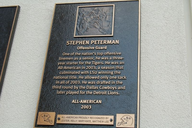 Stephen Peterman Marker image. Click for full size.
