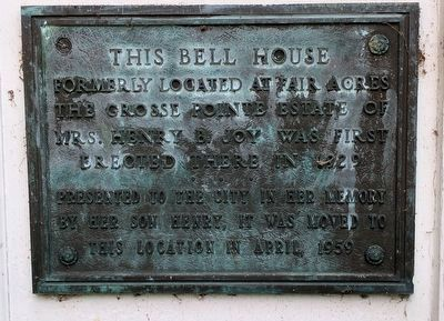 This Bell House Marker image. Click for full size.