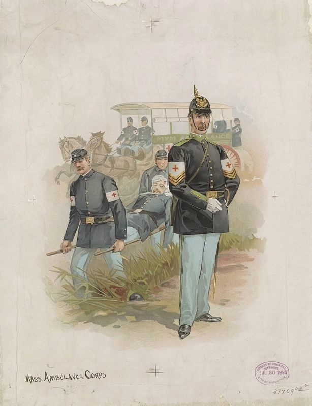 <i>Mass. ambulance corps</i> image. Click for full size.