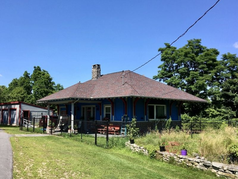 Former West Chazy Railroad Station image. Click for full size.