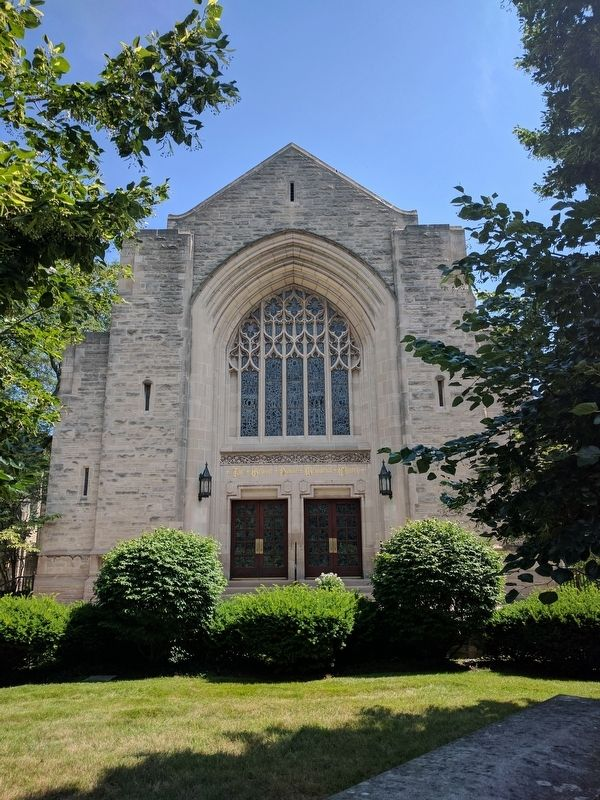 The Grosse Pointe Memorial Church image. Click for full size.