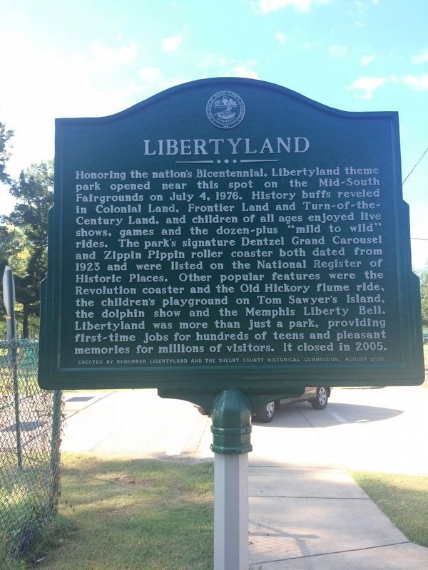 Zippin Pippin / Libertyland Marker image. Click for full size.