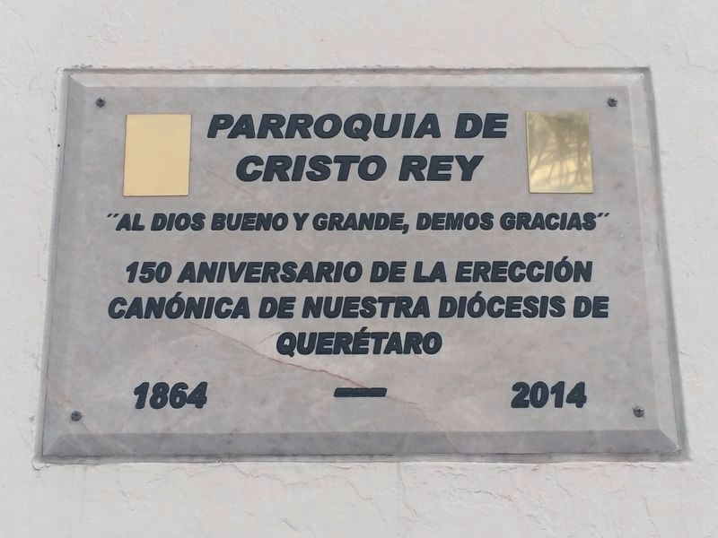 An additional marker on The Parish of Cristo Rey image. Click for full size.