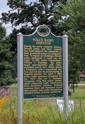 Police Radio Dispatch Marker image. Click for full size.