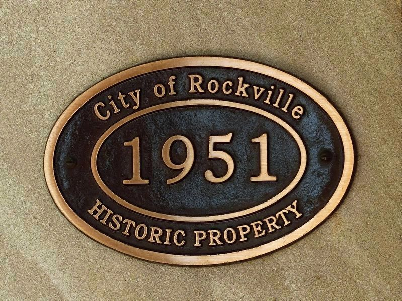 <br><br>1951<br>Historic Property<br>City of Rockville image. Click for full size.