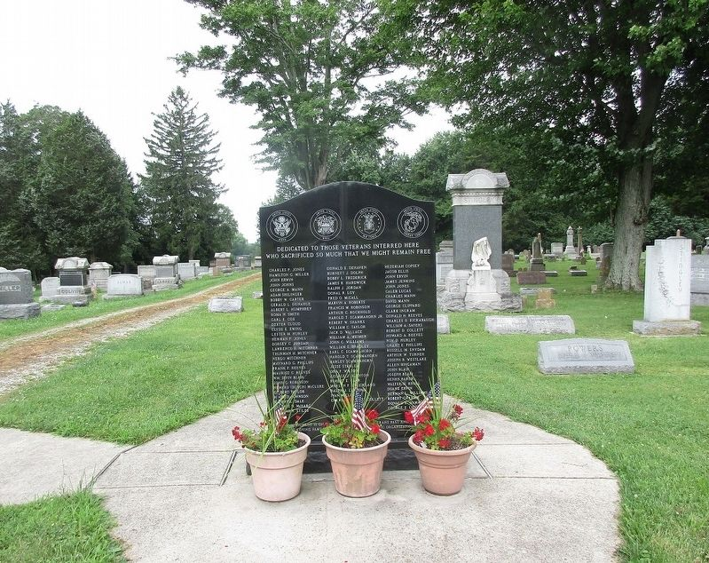Chester Township Veterans Memorial Marker image. Click for full size.