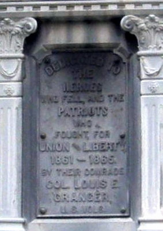 Hardwick (MA) Civil War Memorial Marker image. Click for full size.