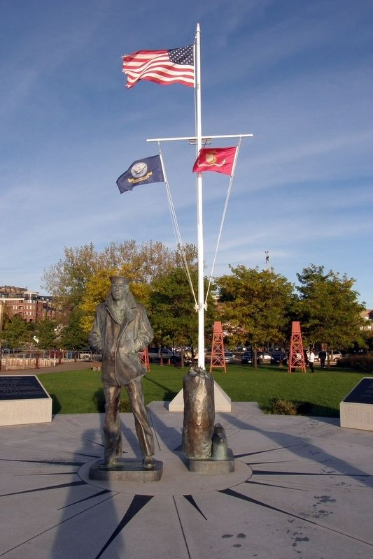Lake Champlain Navy Memorial image. Click for full size.