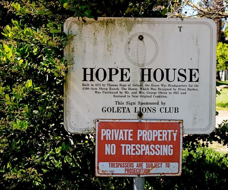 Hope House Marker image. Click for full size.