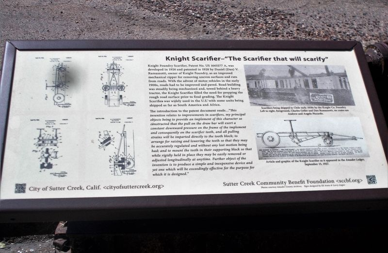"Knight Scarifier – ""The Scarifier that will scarify"" Marker image. Click for full size."