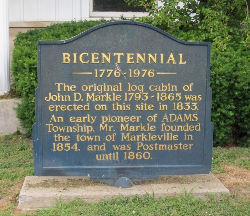 Bicentennial Marker image. Click for full size.