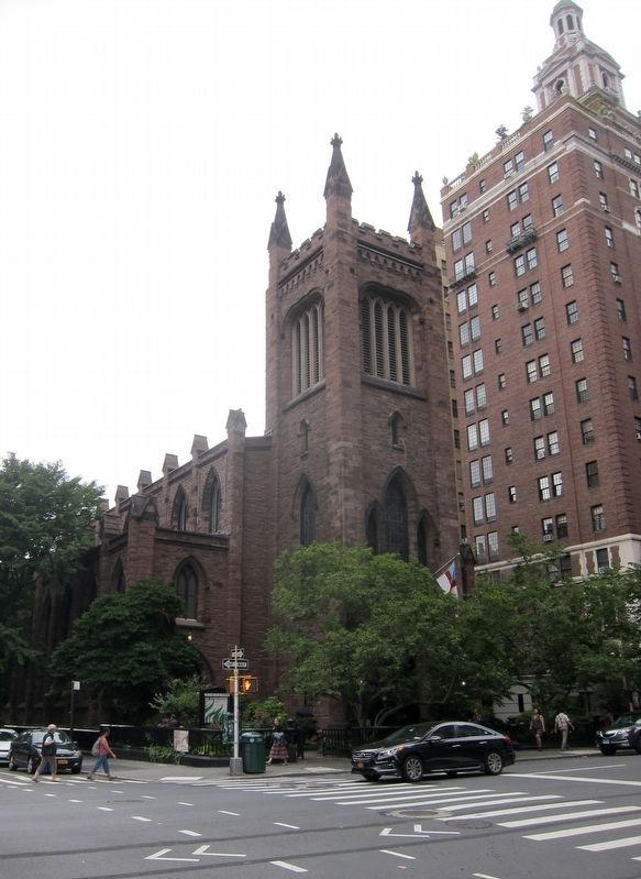 Church of the Ascension - Looking West Across Fifth Avenue image. Click for full size.