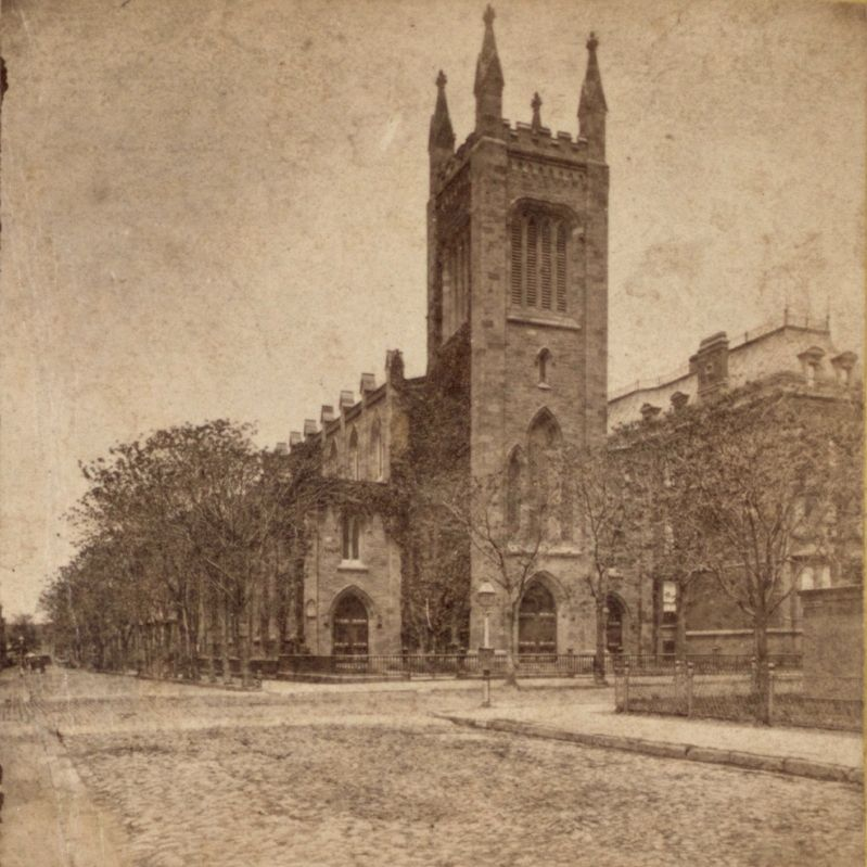 <i>Church of the Ascension, 10th St. and 5th Ave.</i> image. Click for full size.
