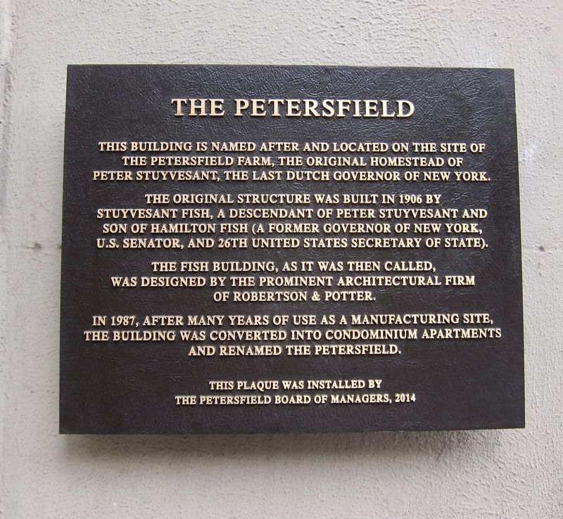 The Petersfield Marker image. Click for full size.