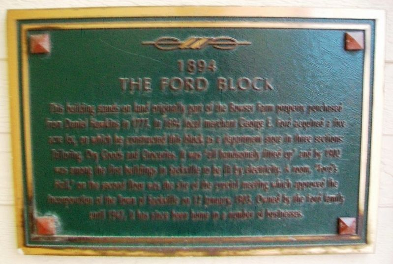 The Ford Block Marker image. Click for full size.