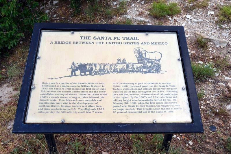 The Santa Fe Trail image. Click for full size.
