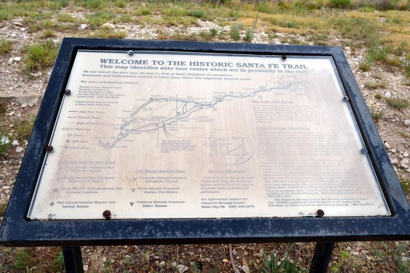 Welcome to the Santa Fe Trail image. Click for full size.