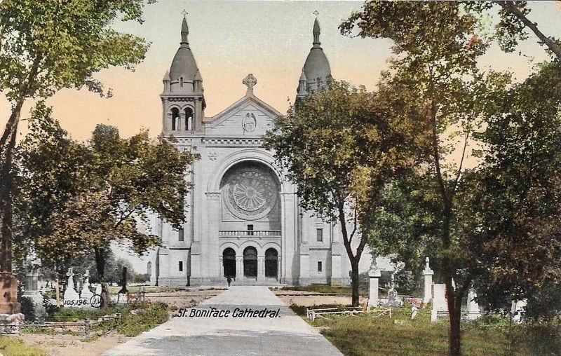 St. Boniface Cathedral image. Click for full size.
