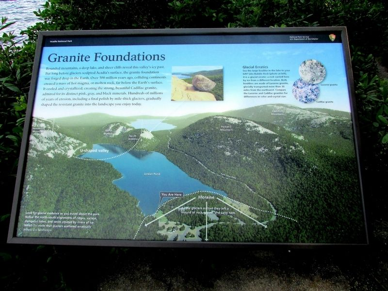 Granite Foundations Marker image. Click for full size.