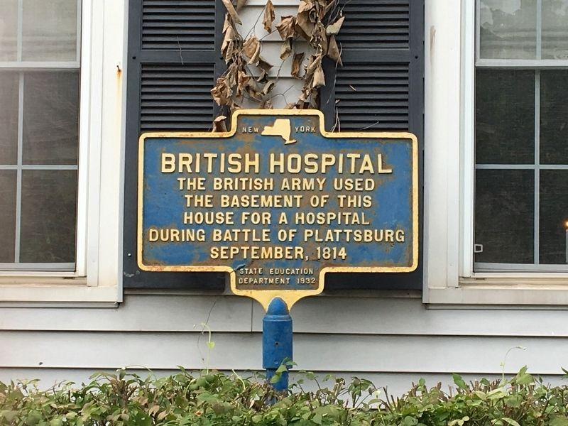 British Hospital Marker image. Click for full size.