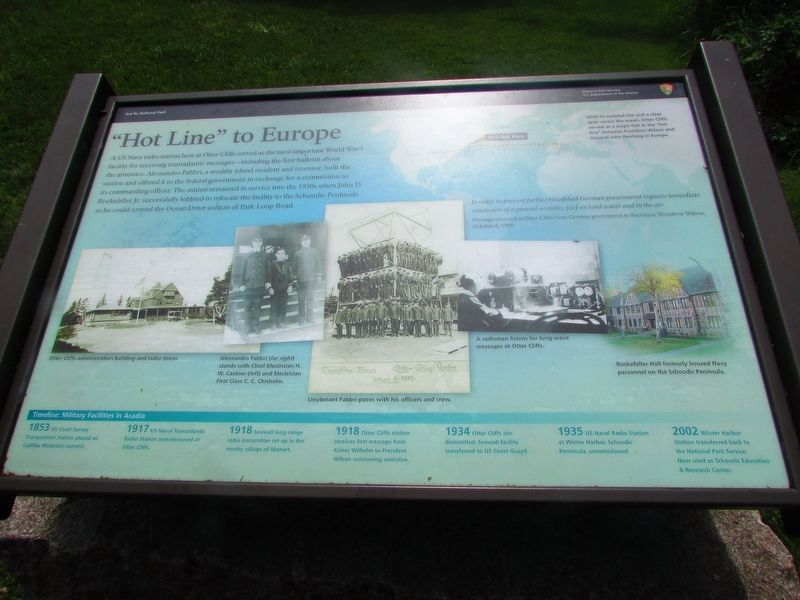 """Hot Line"" to Europe Marker image. Click for full size."