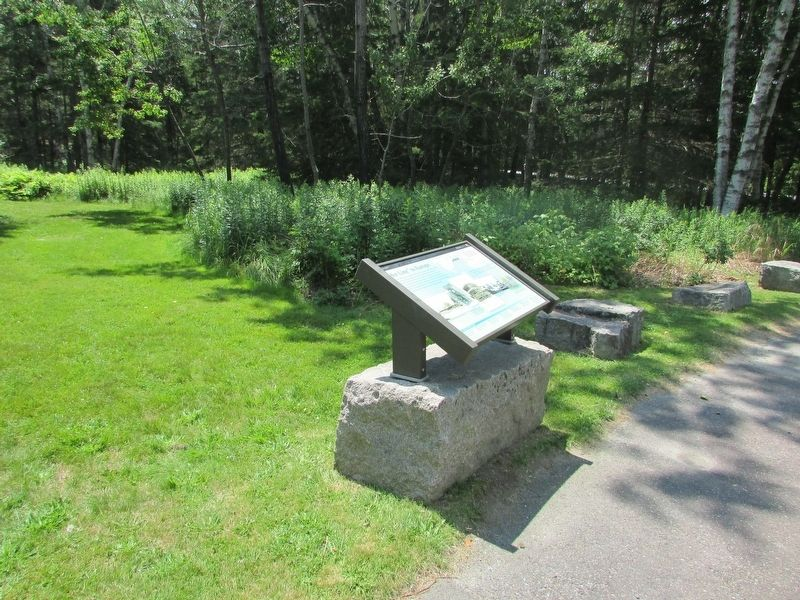 Marker in Acadia National Park image. Click for full size.