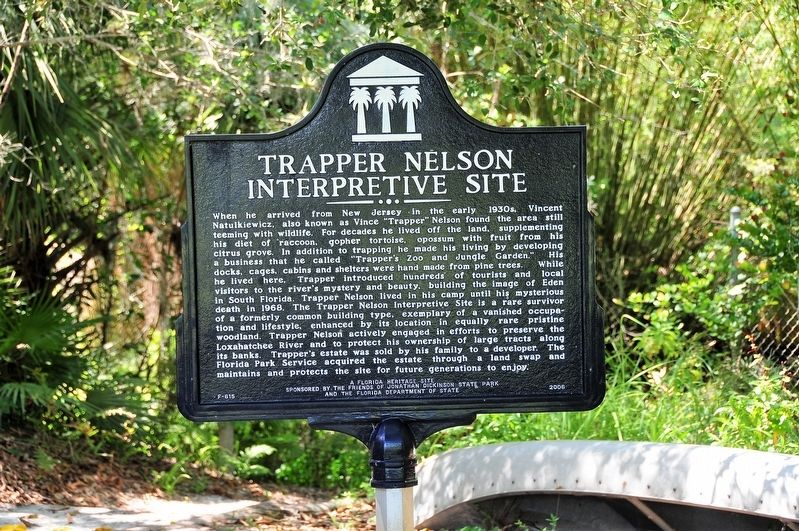 Trapper Nelson Interpretive Site Marker image. Click for full size.