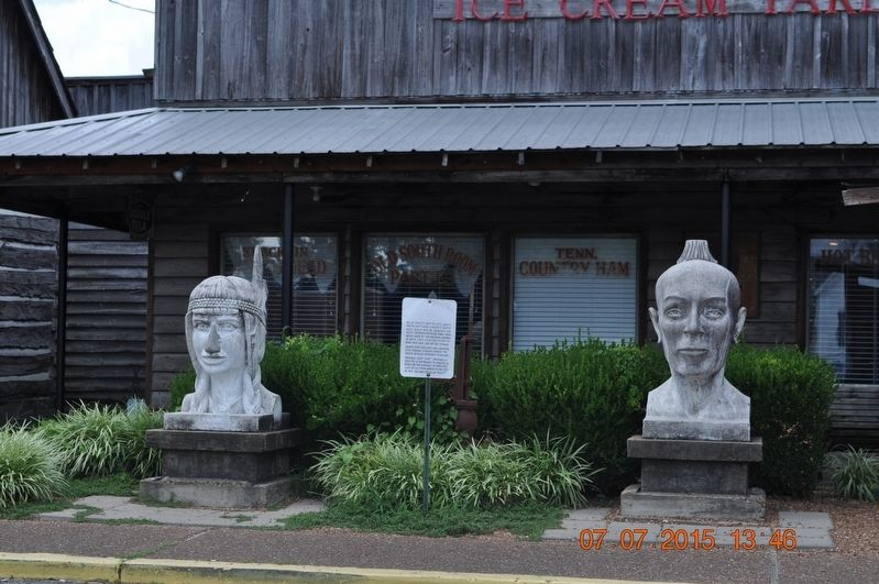 Reelfoot and Laughing Eyes Marker image. Click for full size.