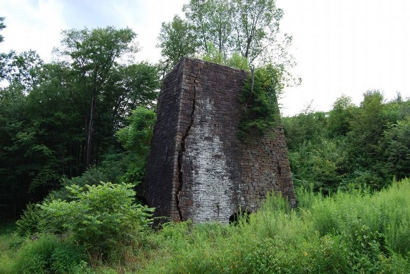 Karthaus Furnace Remains image. Click for full size.