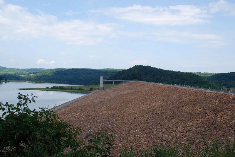 Curwensville Dam image. Click for full size.