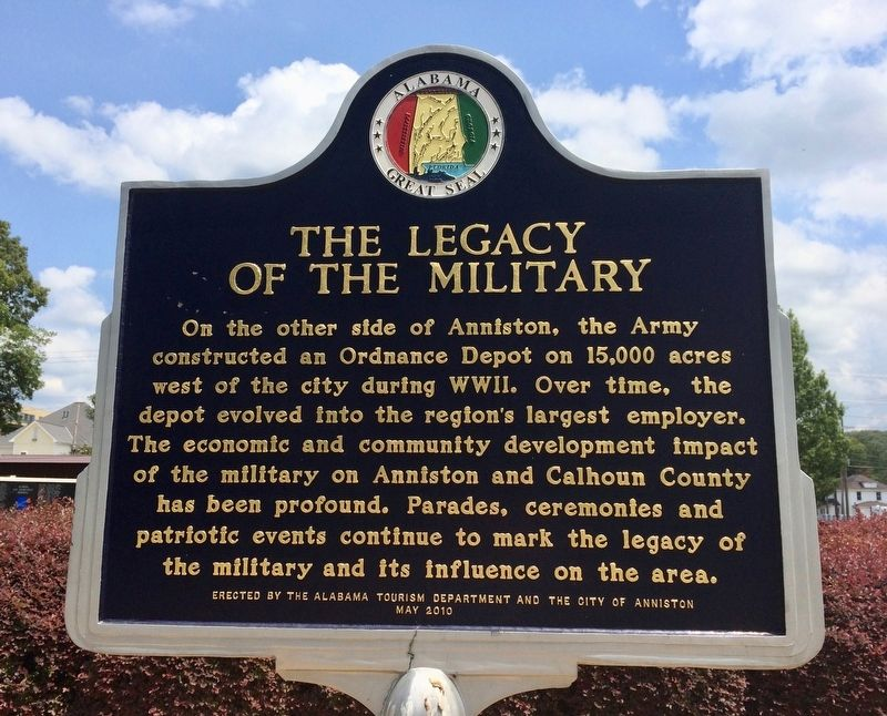The Legacy of the Military Marker image. Click for full size.