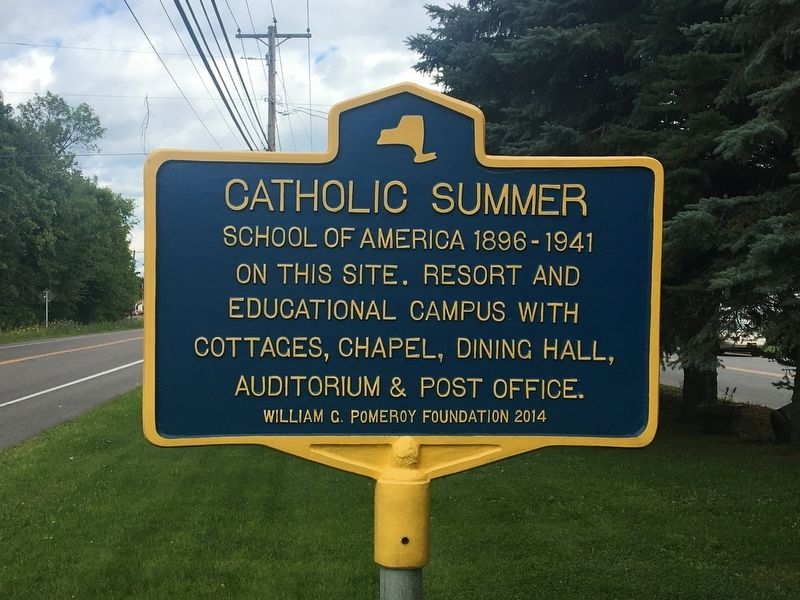 Catholic Summer School Marker image. Click for full size.