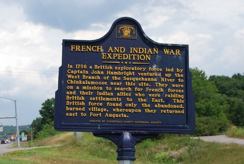 French and Indian War Expedition Marker image. Click for full size.