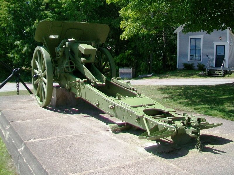 WWI 10cm K 14 German Field Gun image. Click for full size.