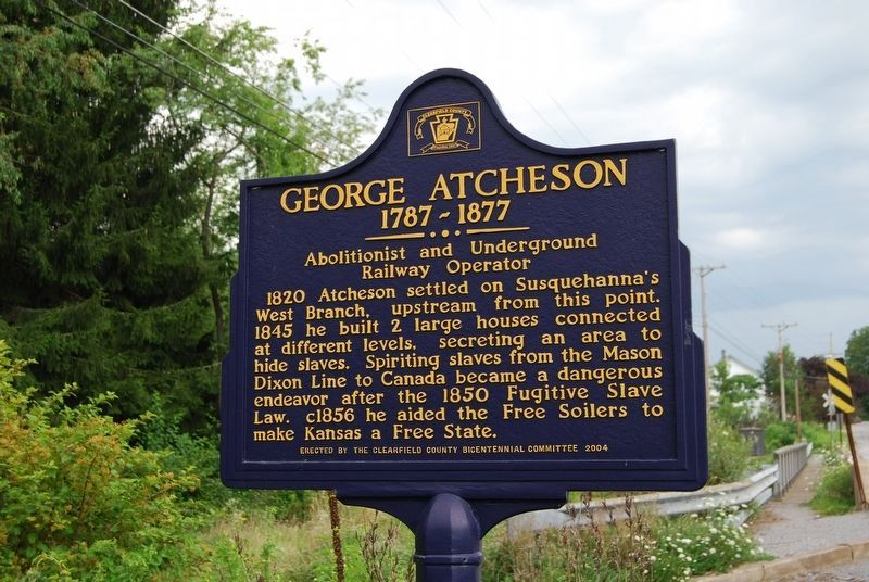 George Atcheson Marker image. Click for full size.