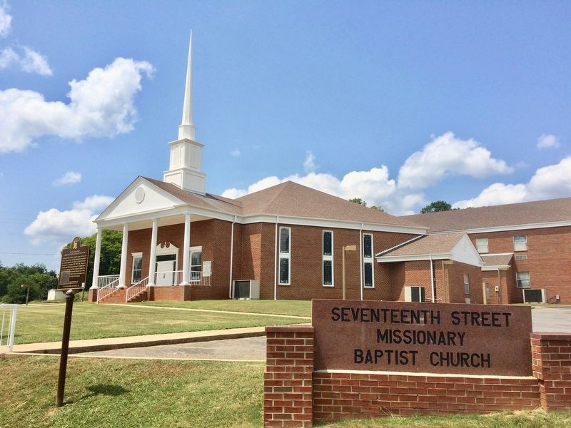 The Seventeenth Street Missionary Baptist Church image. Click for full size.