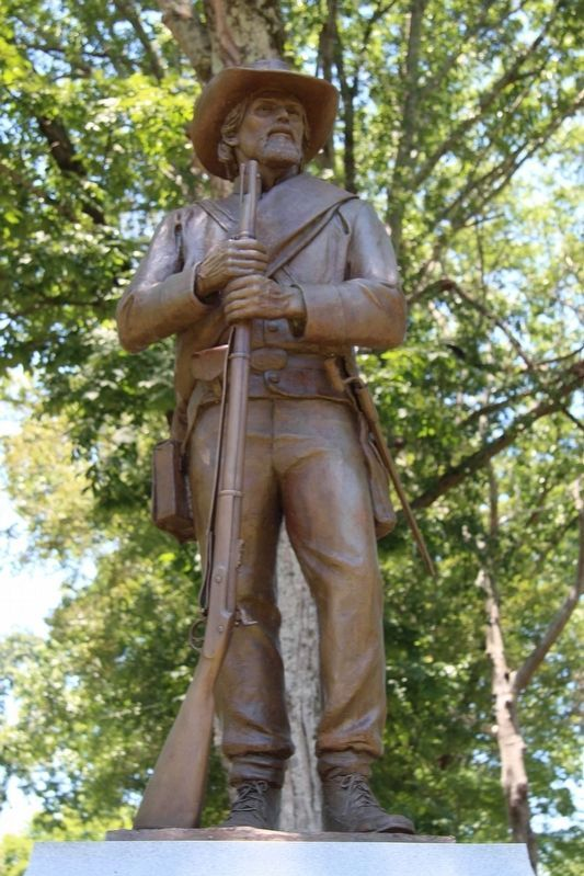 26th Tennessee Infantry / 1st Georgia Infantry Memorial Marker image. Click for full size.